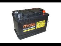 Batterie remplie 074AH - 278x175x190 - Plus à droite