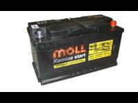 Batterie remplie 100AH - 353x175x190 - Plus à droite