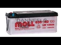 Batterie remplie 135AH - 514x175x210 - Plus à gauche