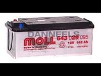 Batterie remplie 143AH - 514x218x210 - Plus à gauche