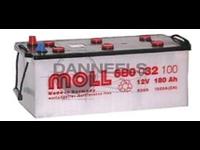 Batterie remplie 180AH - 513x223x223 - Plus à gauche