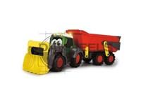 Tracteur Fendti avec remorque